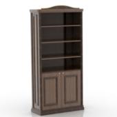 Antique Bookcase Free 3dmax Model