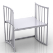 Free 3dmax Model White Tables