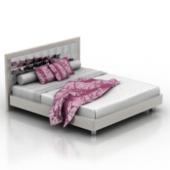 Fashion Boudoir Bed Free 3dmax Model