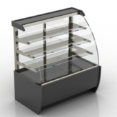 Glass Showcase Free 3D Model