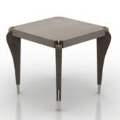 Ebony Desk Free 3dmax Model