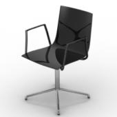 Exquisite Slim Swivel Chair Free 3dmax Model