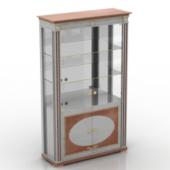 Glass Showcase Free 3dmax Model