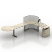 Conference Table Free 3dmax Model