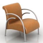 Brown Armchair Free 3dmax Model