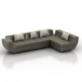 Multiplayer Sofa Free 3dmax Model