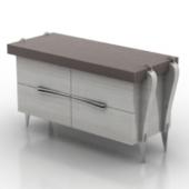 Low Desk Free 3dmax Model