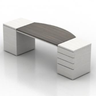 White Wooden Office Desk