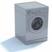 2009 New Washing Machine Free 3dmax Model 1-1