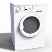 Washing Machine Free 3dmax Model-5