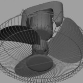 Electric Fan Free 3D Max Model