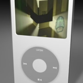 Apple Ipod Player Free 3dmax Model