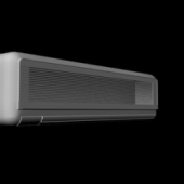 Wall Air Conditioner Free 3dmax Model