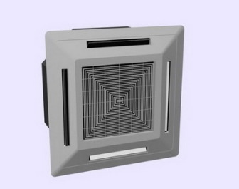 Ceiling Cassette Air Conditioner Free 3dmax Model