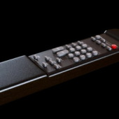 Remote Television Free 3dMax Model