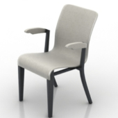 Simple Modern Chair Free 3dmax Model