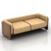 Vintage Sofa Free 3dmax Model