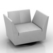 Modern Stylish Sofa Free 3dmax Model