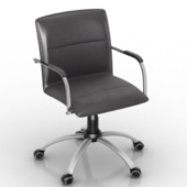 Corporate Swivel Tilt Chair Free 3dmax Model