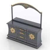 Luxury Dresser Free 3dmax Model