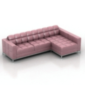 Luxury Sofa Free 3dmax Model