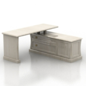 Combination Desk Free 3dmax Model