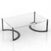 Coffee Table Free 3dmax Model