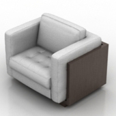 Single Deluxe Sofa Free 3dmax Model