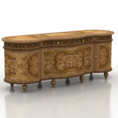 Luxurious Vintage Drawer Free 3dMax Model