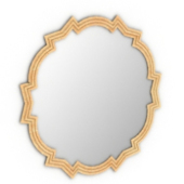 Irregular Mirror Free 3dmax Model