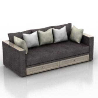 Modern Style Luxury Sofa 3dmax Free 3dmax Model Free ...