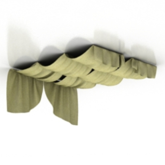 Free 3dmax Model Ceiling Curtain Free Download - No1835 Zip
