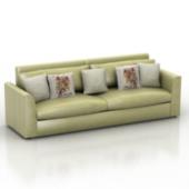 Green Sofa Free 3dmax Model