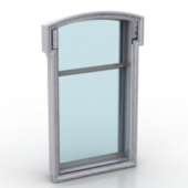 Free 3dmax Model Window Frame