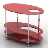 Multilayer Tables Free 3dmax Model