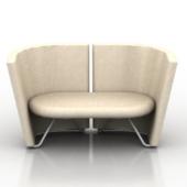 Wooden Elegant Sofa