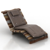 Luxury Recliner Chair Free 3dMax Model