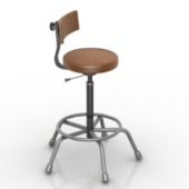 Bar Chair Free 3dmax Model