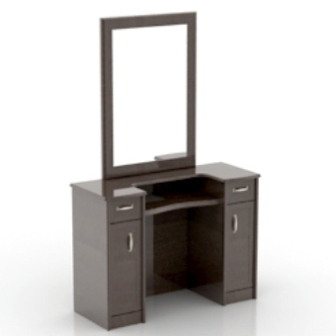 Wooden Dresser 3dmax Model Free