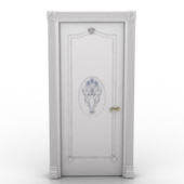 Classic Style White Door Free 3dmax Model