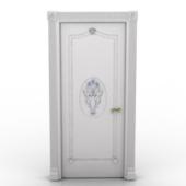 Classic Style White Door
