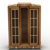Chinese Wooden Wardrobe