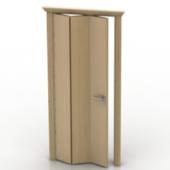 Wooden Folding Free 3dmax Model