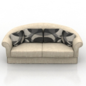 Common Sofa Free 3dmax Model