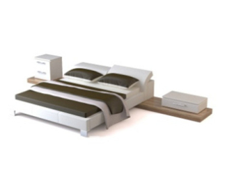 Simple modern bed free dmax model free download no zip
