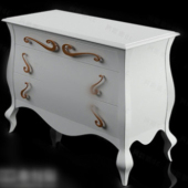 Classic Bedside Cabinet Free 3dmax Model