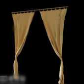 Free 3dmax Model Window Curtains