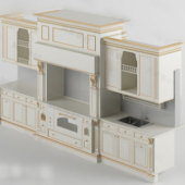 Free 3dmax Model Of European Cabinets