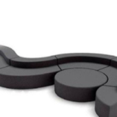 2014 S Sofa Free 3dmax Model