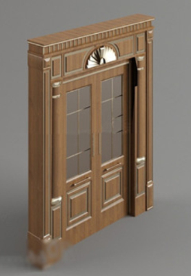 European Doors Free 3dmax Model & Free door 3dMax Models - 123Free3dModels.com